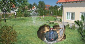 nádrž na vodu pod zem