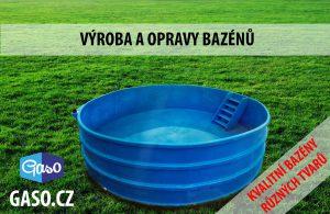 výroba a opravy bazénů
